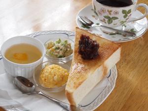 le cafe et latelier 豆工房モーニング